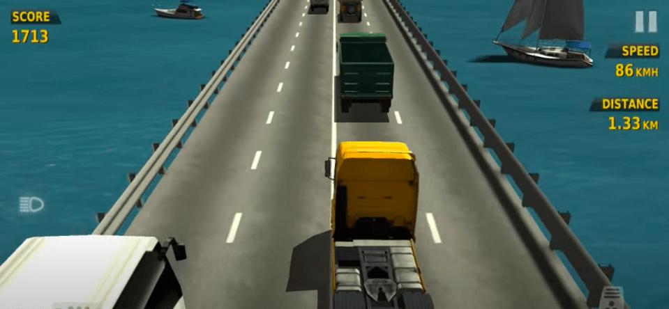 traffic racer game play